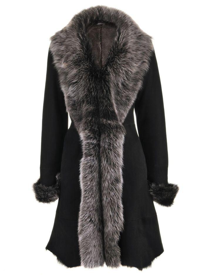 Lamb Black Coat