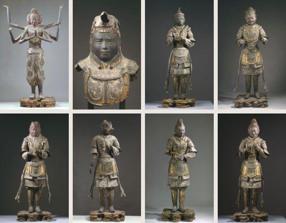 乾漆八部衆立像(かんしつはちぶしゅうりゅうぞう) | 「国宝」「重要文化財」 | 文化財 | 法相宗大本山 興福寺
