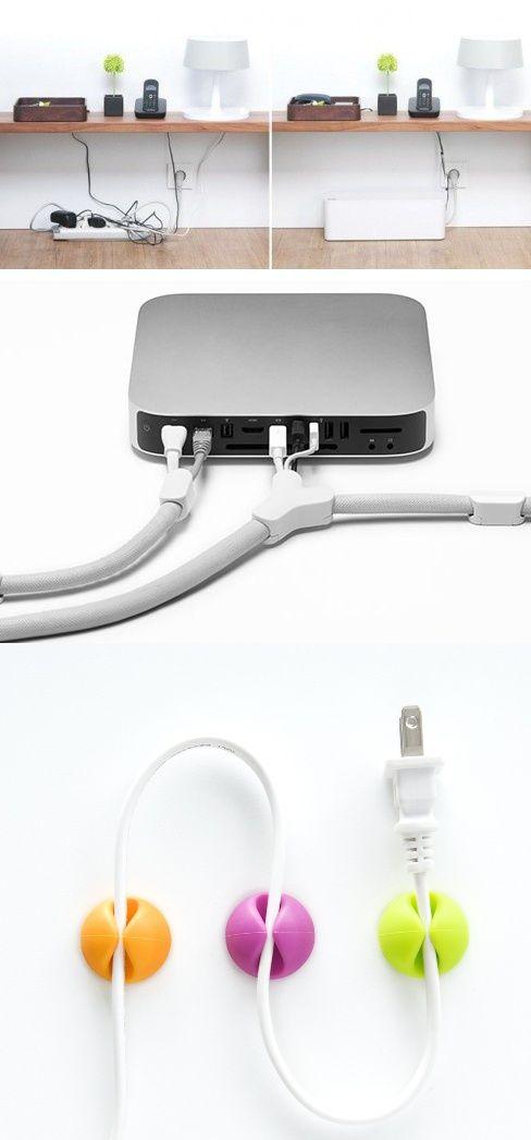 Les 25 meilleures id es de la cat gorie cacher les fils - Comment ranger les fils electriques ...