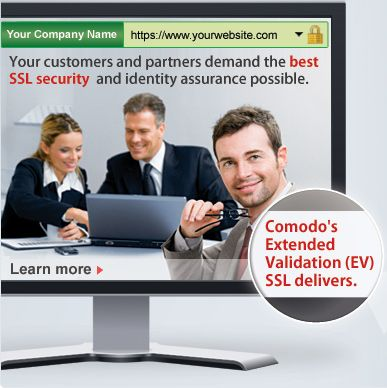 SSL Certificate & 2048 bit Industry Standard SSL Certificate Authority from Comodo. It is the full business validated SSL Certificates, secure server certificates with low cost and high assurance.