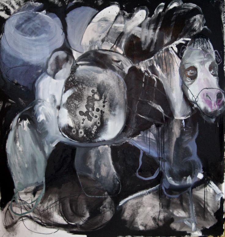 Hanna Rubensson. Oil on canvas, 2013.