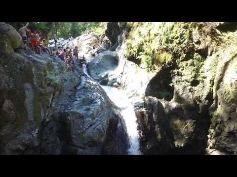 Lynn Valley Canyon - Natural Waterslide - YouTube