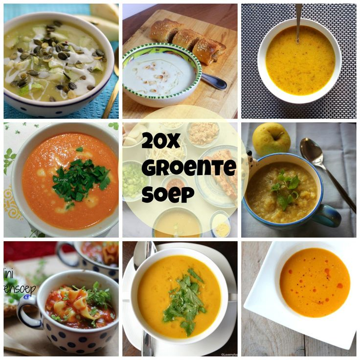 20x groentensoep