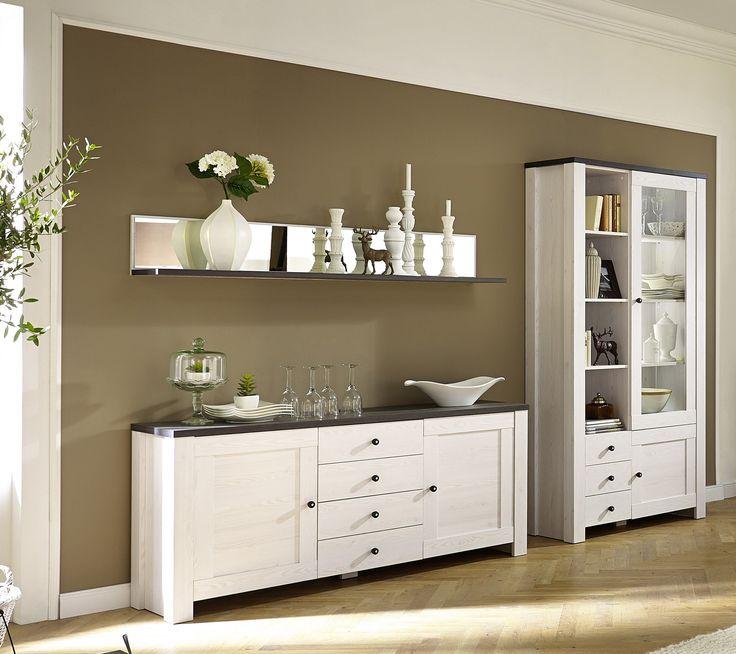 13 best Wohnzimmer images on Pinterest Living room, Cottage chic - Wohnzimmermöbel Weiß Landhaus