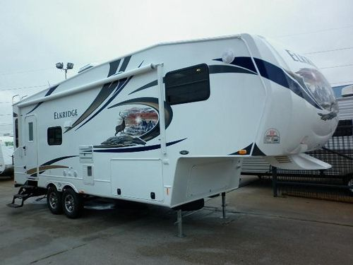 Stock Number: 2395 Type: New Year: 2011 Class: FIFTH WHEEL Manufacturer: HEARTLAND Brand: ELKRIDGE Model: 27RLSS   Check out RV Tire Pressure Monitors