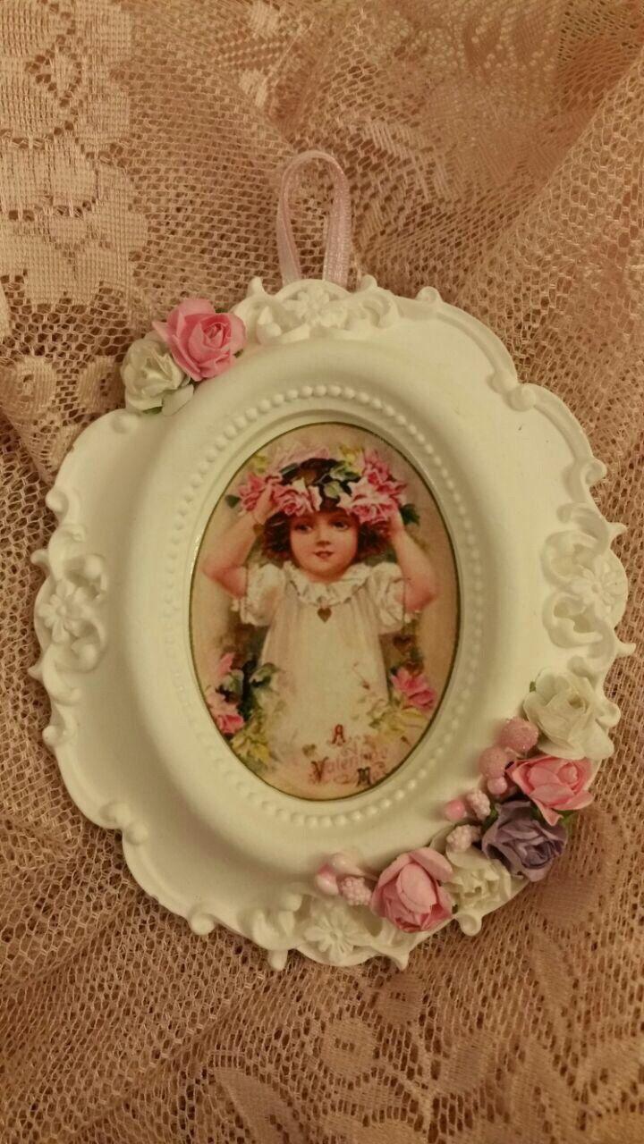 Scented Stone Embossed Ornamental Frame / Handmade Wall Hanger / Flowered Wedding Decoration / Fragrance Home Decor / Babyshower gift / (15.00 USD) by LeilaGiftsAndCrafts