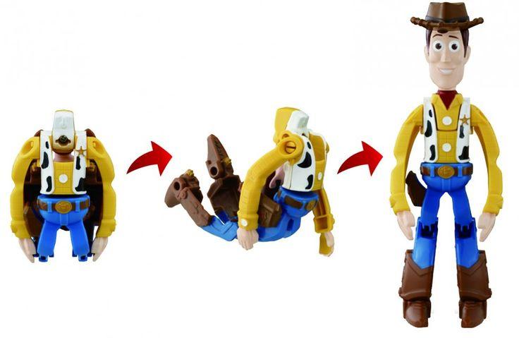 Retrouve tous tes héros Disney Pixar dans cette collection rigolote d'œufs transformables en figurines. Issus des films Toy Story, voici Woody le shérif et meilleur ami de Buzz l'éclaire!  #HatchnHeroes #Buzz #Woody #Olaf #Nemo #Doris #jouet #bandai #oeuf #transforme #Disney #ToyStory