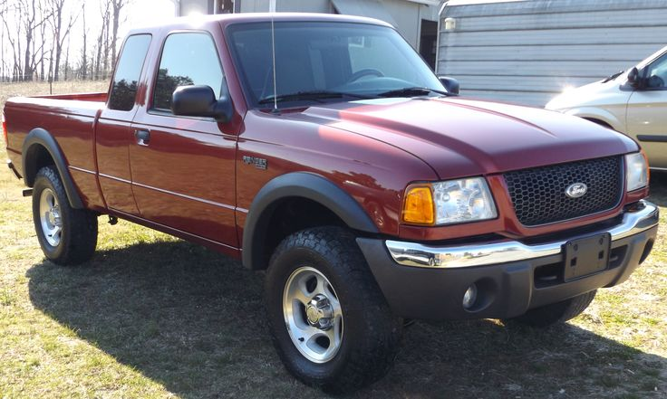 2002 Ford Ranger Edge XLT, 4 x 4