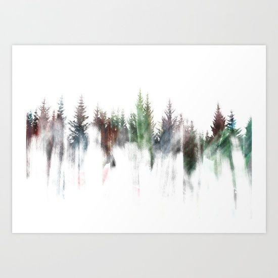 Forest Art Print by JKdizajn - $28.08