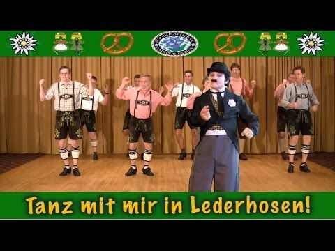 Tanz mit mir in Lederhosen! - YouTube. Whether you want to learn German or not, this video is going to make you smile.