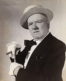 William Claude Dukenfield, better known as W. C. Fields, was an American comedian, actor, juggler and writer. Fields was known for his comic persona as a misanthropic and hard-drinking egotist who remained a sympathetic character despite his snarling contempt for dogs, children and women. The characterization he portrayed in films and on radio was so strong it became generally identified with Fields himself.