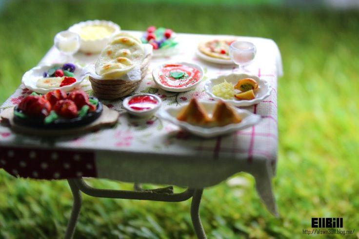 ●EllBill Miniature_Indian food table  ●Creator: EllBill (KimMinju) ●blog: alswn3011.blog.me/ ●E-mail: alswn3011@naver.com