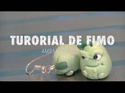 FIMO tutorial, plants vs zombies, APISONAFLOR ¡Ambarina Vlogs! - YouTube