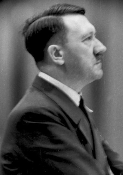 Hitler - the exploded face of an artist