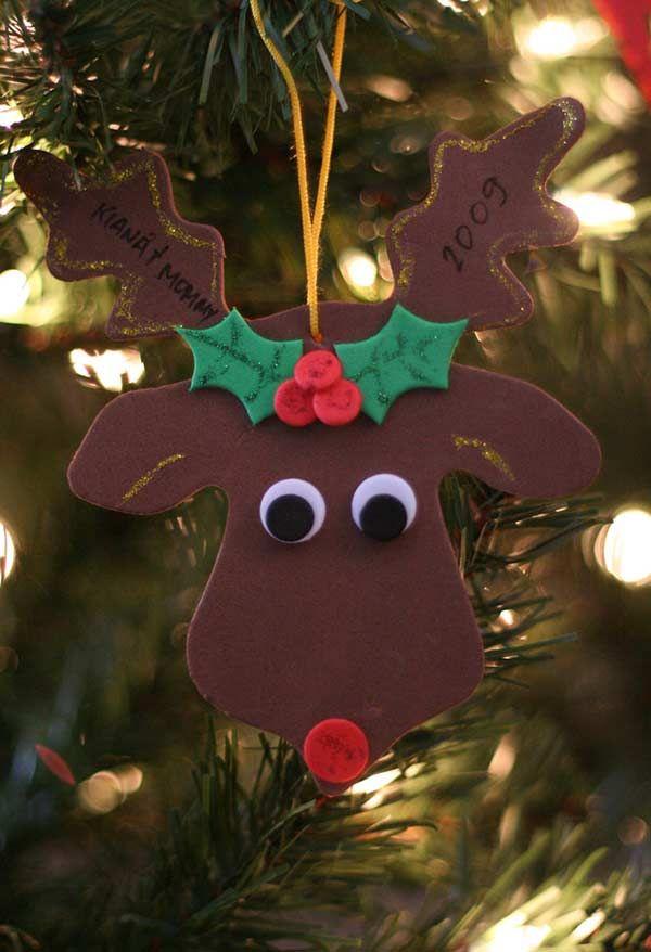 Enfeites De Natal Em Eva 60 Ideias E Como Fazer Passo A Passo