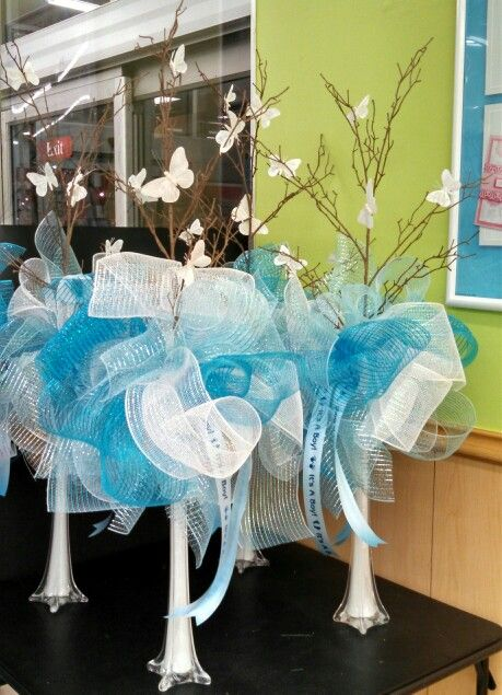 60 best ideas about party centerpiece inspiration on for Baby shower craft decoration ideas