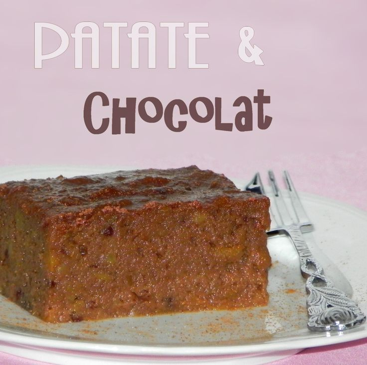 Pour 6 personnes - 1 kilo de patates douces - 200 g de sucre - 4 oeufs - 3 cuillères à soupe de cacao en poudre non sucré