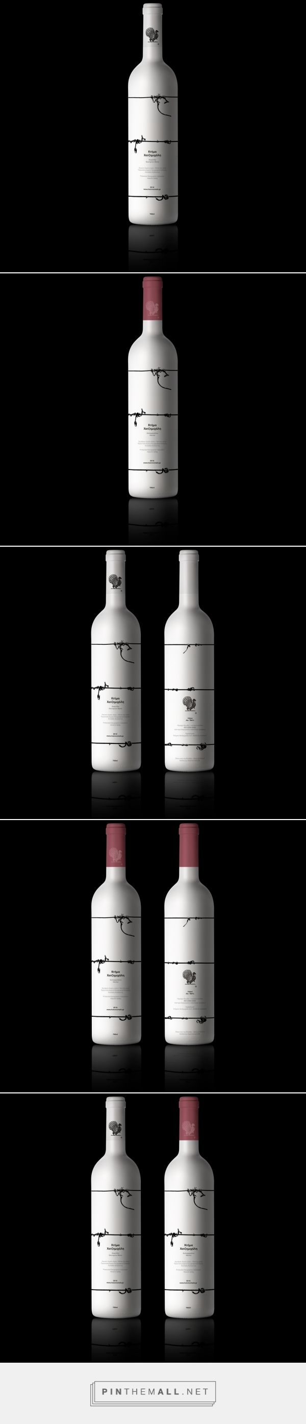Hatzimichalis Wine - Packaging of the World - Creative Package Design Gallery - http://www.packagingoftheworld.com/2017/08/hatzimichalis-wine.html