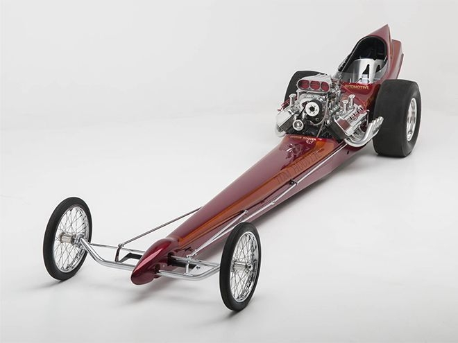 "Possibly the Most Beautiful Top Fuel Dragster Ever Built- Tom Hoover's 1966 ""Fishbowl"" Top Fuel Dragster"