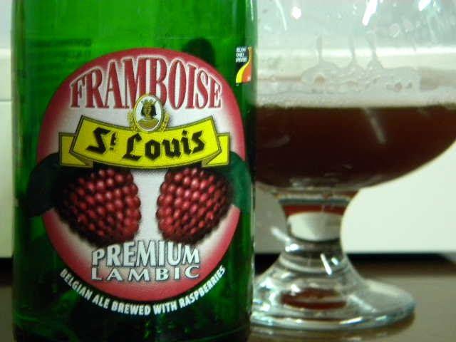 Beer Postings - 800 Reviews and Back at it: Framboise St Louis Premium Lambic: Review