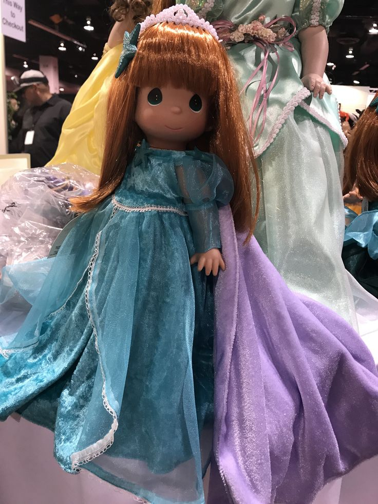 Linda Rick Featured Exclusive Precious Moments Dolls at D23 Expo 2017