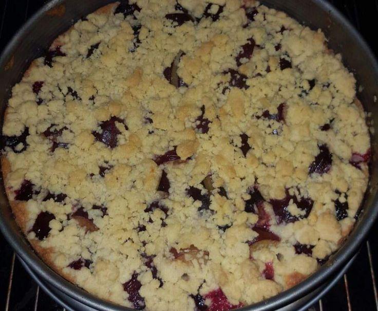 Rezept Zwetschgenkuchen mit Streuseln  von Jklausmann - Rezept der Kategorie Backen süß
