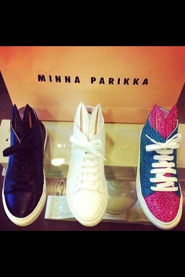Minna Parikka Bunny Sneakers AW14