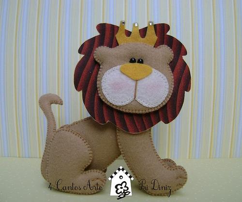 Felt Leo the Lion