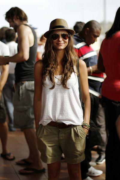 Vous aimez ce look et vous êtes #enceinte ? Craquez pour le #short de #maternité #Seraphine ! http://www.seraphine.fr/short-de-maternite-kaki.html