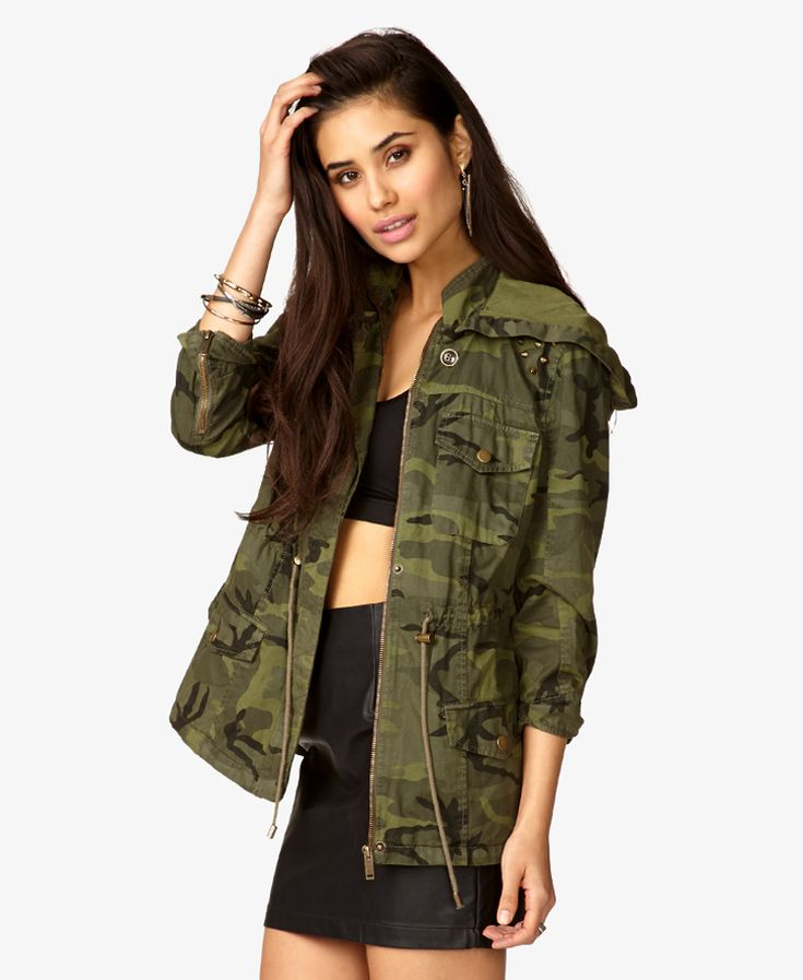 olivedark-olive-hooded-spiked-jacket-