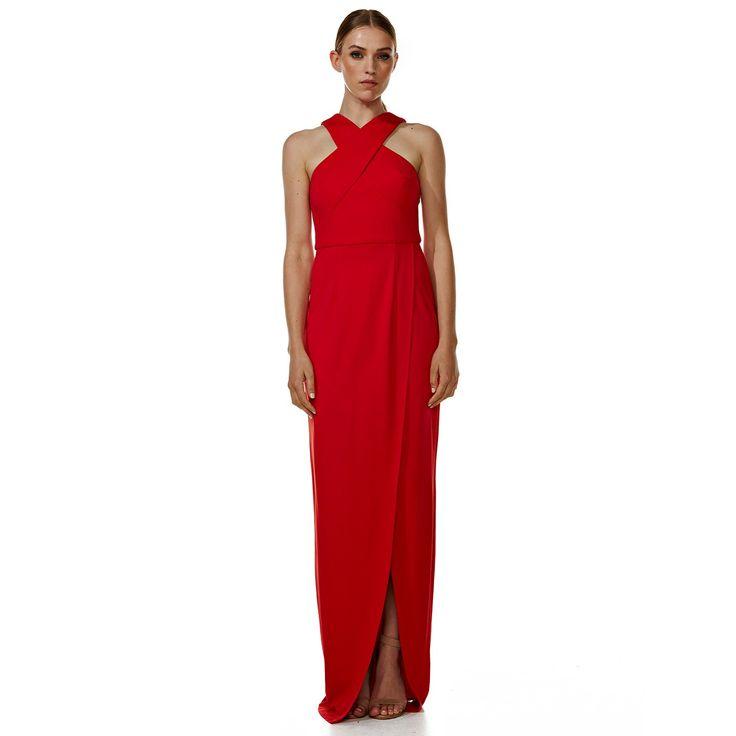 Dakota Red Evening Dress