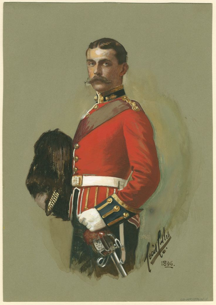 British; Austin Mackenzie of Carradale, 3rd Royal Scots Fusiliers, 1896, Cecil Cullen