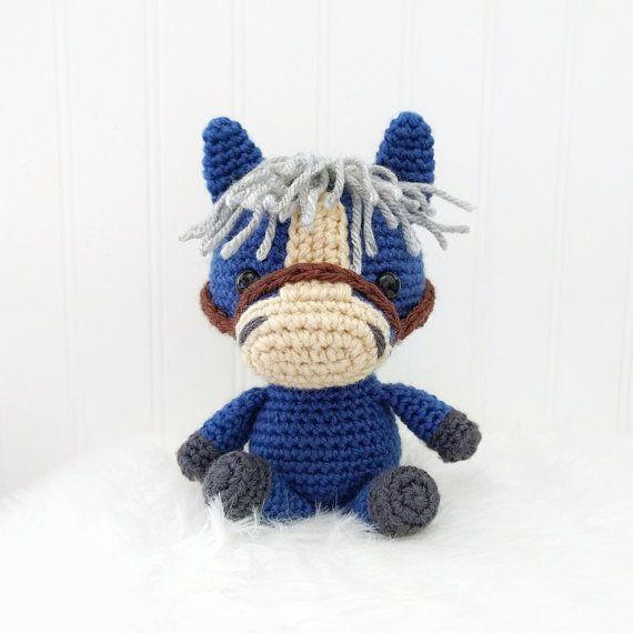 Pattern: Crochet Pony Pattern Amigurumi Horse Pattern Pony | Crochet ...