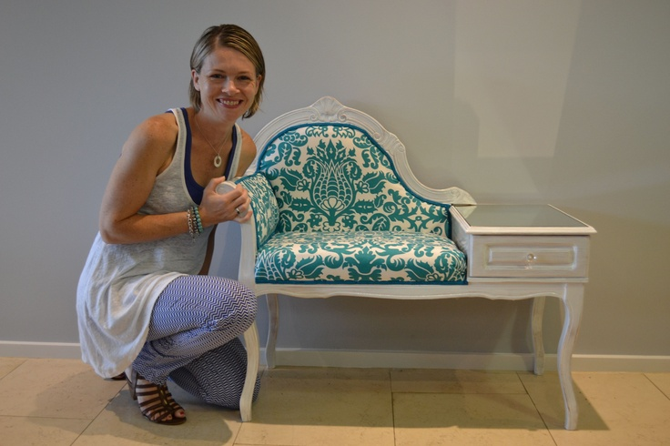 Sam Cannell pictured with her Re-Love Project 'The Gossip Table'. Sam drew inspiration for her online home and giftware store, SE10 Gallery, from years spent abroad in England. Sam's passion for British-influenced design had her on the hunt for stylish, quirky homewares that could be seamlessly blended with Australian lifestyle concepts. Launching in 2011, SE10 Gallery has provided Sam a platform to share her passion for interior aesthetics and the power they have to transform a living…