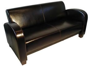 Gaumont Italian Leather sofa and armchair range