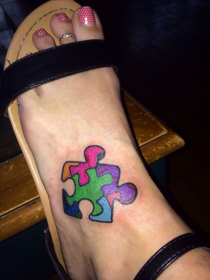 My autism awareness tattoo for my son