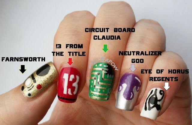 WArehouse 13 Nails!