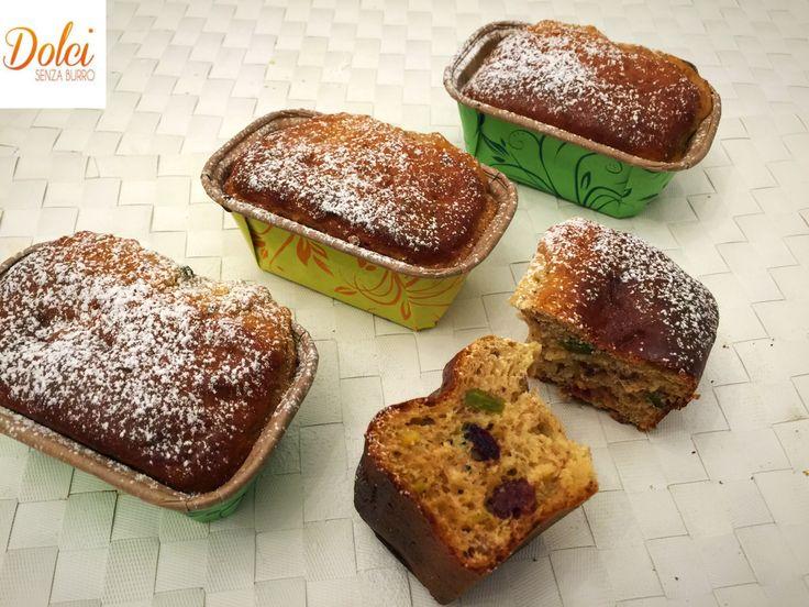 Mini Plumcake Senza Burro - Dolci Senza Burro