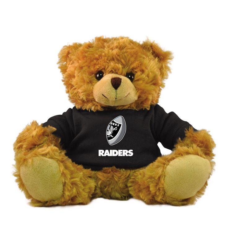 Bleacher Creatures Oakland Raiders 9 Inch Rally Men Hoodie Bear