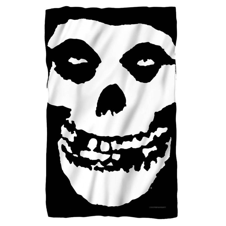 Misfits - Fiend Skull Polar Fleece Blanket