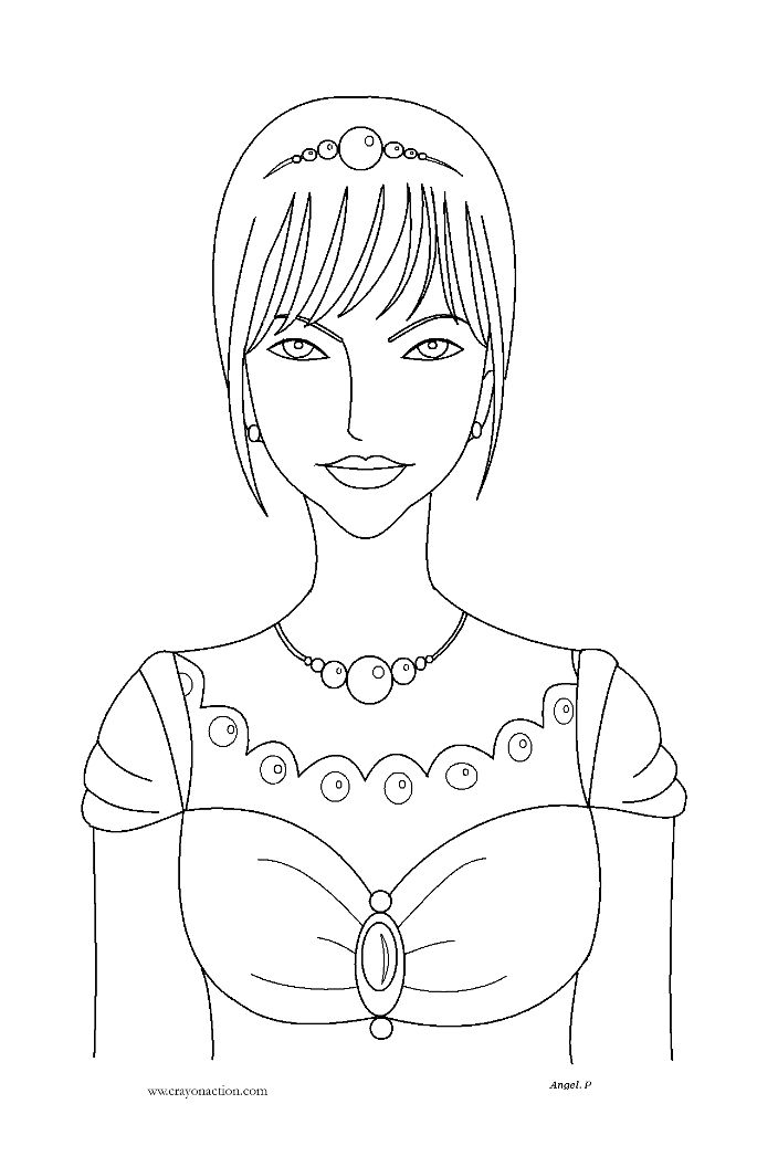 42 best images about princess pic on pinterest princess for Little princess coloring pages
