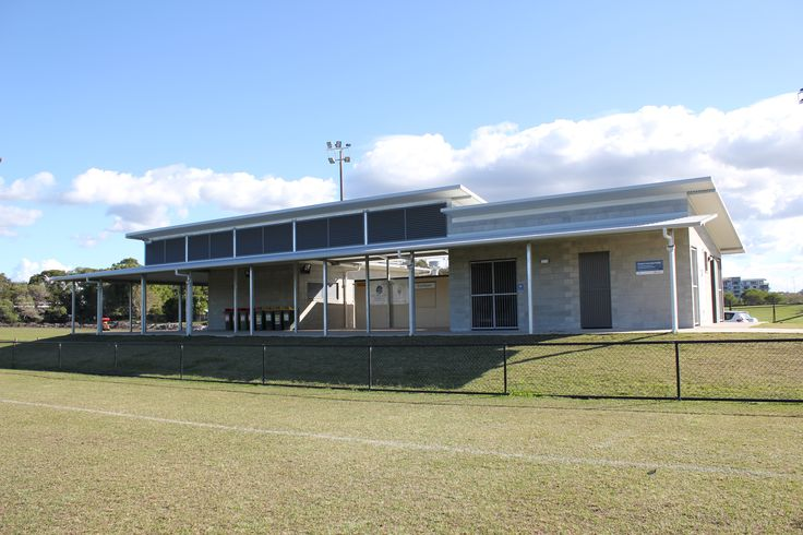 Ritek's insulated roof system was the ideal solution for this sports club house.