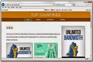 Big-countries.net est un pirate de navigateur voyous qui vise à prendre le contrôle sur les navigateurs Web populaires tels que Google Chrome, Mozilla Firefox, Internet Explorer et Opera pour effectuer des tâches illicites.