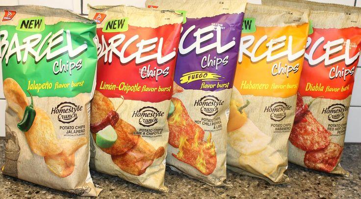 Barcel Chips Jalapeno, Lime & Chipotle, Hot Chili Pepper & Lime, Habaner...