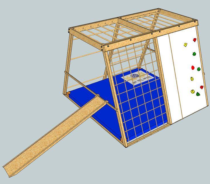 Jungle Gym (climbing frame) / Klettergerüst --> metric design