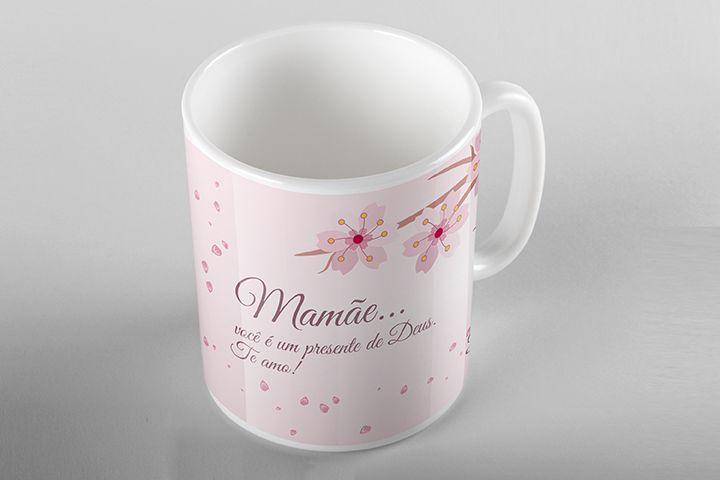 Linda caneca presente dia das mães, frases e imagem pode ser personalizada conforme o gosto do cliente. Promoção dia das mães.
