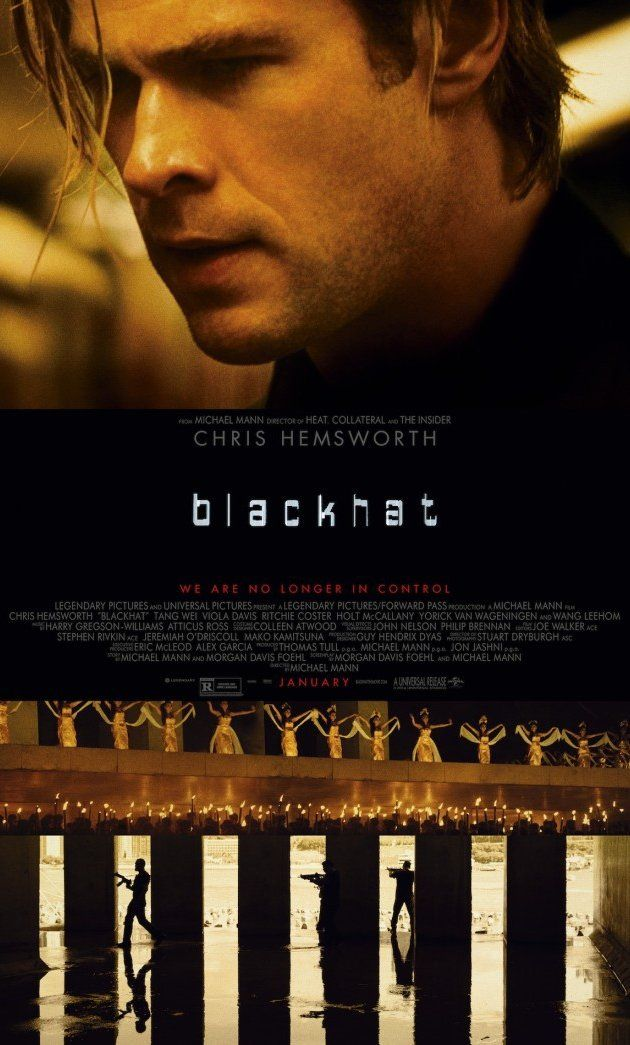 Directed by Michael Mann.  With Chris Hemsworth, Viola Davis, Brandon Molale, William Mapother. A man is released from prison to help American and Chinese authorities pursue a mysterious cyber criminal. The dangerous search leads them from Chicago to Hong Kong.