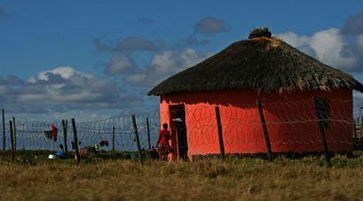 Transkei red hut-small | Flickr - Photo Sharing!