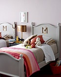 great beds...preferably without the monograms