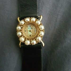 I just added this to my closet on Poshmark: 14kt Gold and Pearl Lucien Piccard Lady's Wristwat. Price: $650 Size: OS